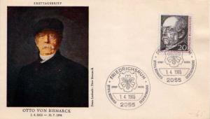 Germany, First Day Cover