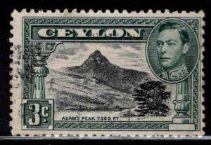 Ceylon Scott 279 Used stamp