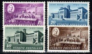 Turkey #978-81 MNH CV $5.00 (X1353)
