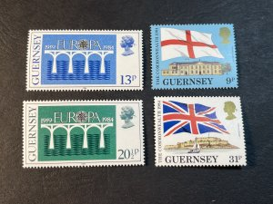 GUERNSEY # 279-282-MINT NEVER/HINGED--2 COMPLETE SETS--1984
