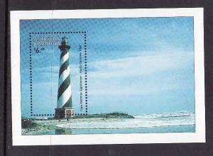 Antigua-Sc#2148-unused NH sheet-Lighthouses-1998-