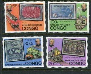 Congo #499-502 MNH