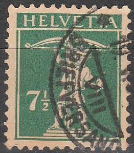 Switzerland #163 F-VF Used  CV $3.25  (D2032)