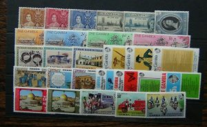 Gambia 1937 1979 Coronation Victory Banjul Palestine Independence Revolution MNH