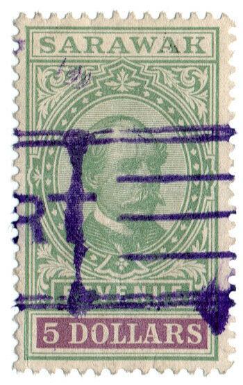 (I.B) Sarawak Revenue : Duty Stamp $5