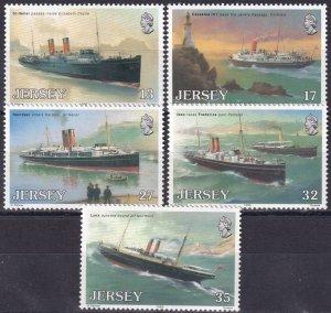 Jersey #522-6  MNH  CV $3.75 (Z3965)