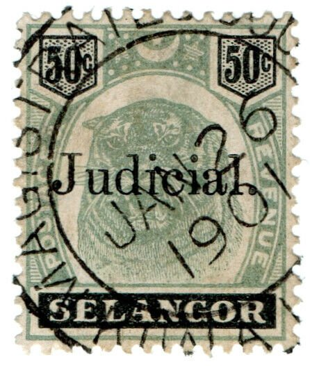 (I.B) Malaya States Revenue : Selangor Judicial 50c