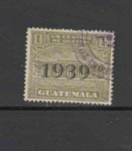 GUATEMALA #RA12 1939 POSTAL TAX F-VF USED