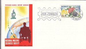 1962, Monaco: International Research, FDC (D12926)