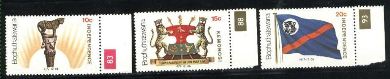 South Africa Bophuthatswana 2-4   M NH VF 1977  PD