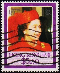 Hong Kong. 1986 $5 S.G.516 Fine Used