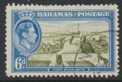 Bahamas SG 159 Sc# 107 Used  Fort Charlotte
