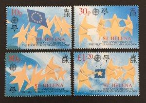 St. Helena 2006 #894-7, Europa 50th Anniversary, MNH.