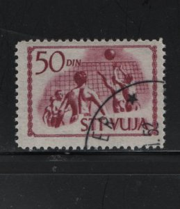 Trieste 46 Used, 1952 Volleyball