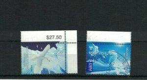AAT110) Australian Antarctic Territory 2009 Poles & Glaciers CTO/Used