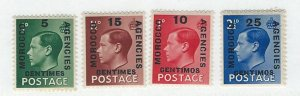 Great Britain offices in Morocco mnh sc 78-81