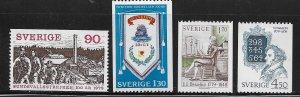 SWEDEN,1291-1294  HINGED, TEMPERANCE MOVMENT