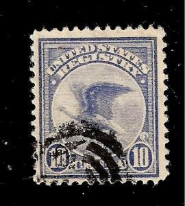 US 1911 US SC # F 1 10 cent Registry Used  - Crisp Image -