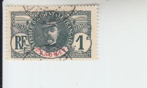 1906 Dahomey Gen. Louis Faidherbe (Scott 17)  UsedHR
