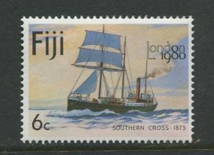 Fiji - Scott 426 - Ships Issue 1980- MNH -  Single 6c Stamp