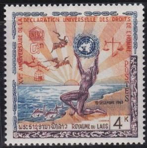 Laos 88 MNH (1963)