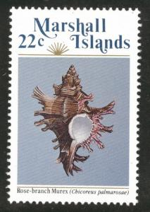Marshall Islands Scott 69 Sea Shell 22c 1985