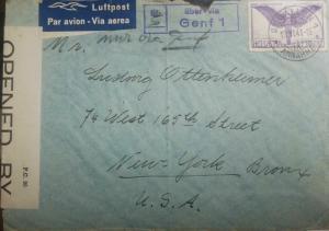 O) 1941 SWITZERLAND, ALLEGORICAL FIGURE OF FLIGHT SCOTT AP4 1FR VIOLET, LIBER VI