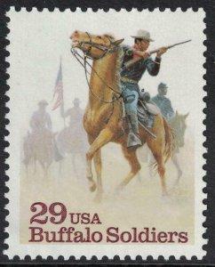 Scott 2818- Buffalo Soldiers, Horses- MNH 1994- 29c mint unused stamp