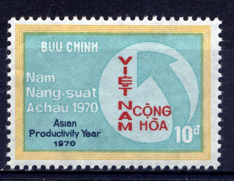 VIETNAM, SOUTH Sc#379 1970 Asian Productivity Year MNH