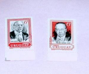 Uruguay - 767-8, MNH Set - Former Presidents. SCV - $0.50
