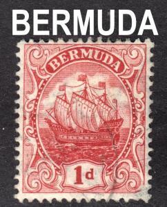 Bermuda Scott 42a  wtmk 3  carmine shade F to VF used. FREE ship for any add...