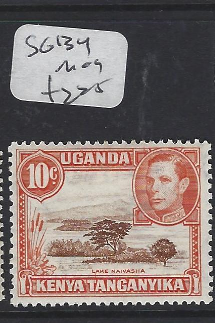 KENYA, UGANDA, TANGANYIKA  (P0909B) KGVI 10C BIRD  SG  134    MOG