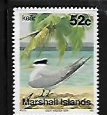 MARSHALL ISLANDS,362, MNH, GREAT CRESTED TERN
