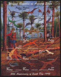 Palau 369 MNH Flying Dinosaurs, Earth Day