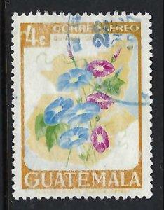 GUATEMALA C352 VFU FLOWERS R6-127-3