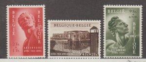 Belgium Scott #B558-B559-B560 Stamps - Mint Set