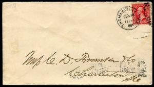 S.C. West Indian Expo/ First Day Use Of Slogan Cancel July 1, 1900/ S6008