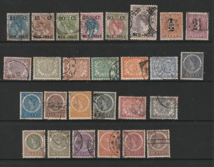 Netherlands Indies a small lot of earlies