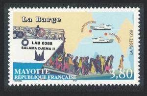 Mayotte Mamoudzou-Dzaoudzi Ferry 1v SG#80