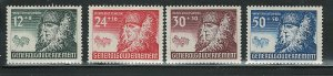 POLAND 1943 'GENERAL GOVERNMENT #NB8 - NB11 MNH