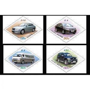 Korea 2016 Vehicles  (MNH)  - Cars