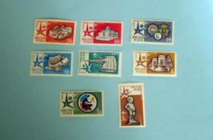 Hungary - C176-83, MNH Set. Pavillion. SCV - $5.20