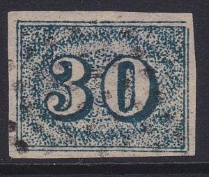 BRAZIL 1854-61 - an old forgery of a classic stamp..................5772