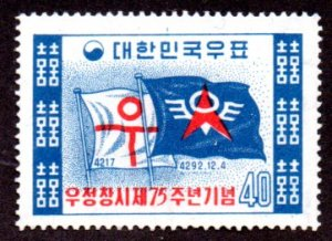 KOREA 297 MLH SCV $1.45 BIN $.60 FLAGS
