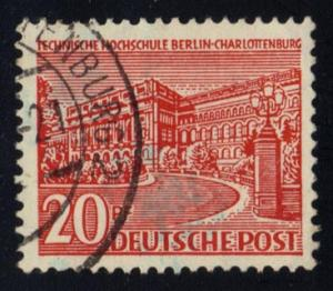 Germany-Berlin #9N49 Polytechnic College; Used (0.35)