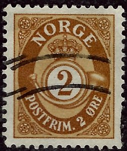 Nice Norway #163 Used  VF...grab a bargain and fill an empty spot!