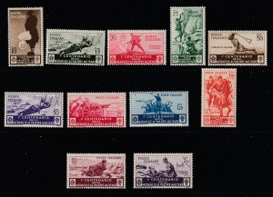 Italy the 1934 Military postage set MH