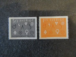 Sweden #626-27 Mint Hinged (G7E2) I Combine Shipping!