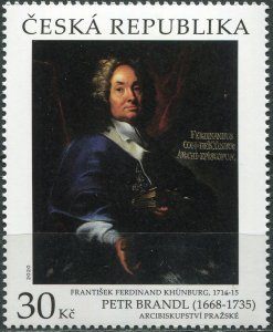 Czech Republic 2020. Archbishop Franz Ferdinand Khünburg (MNH OG) Stamp