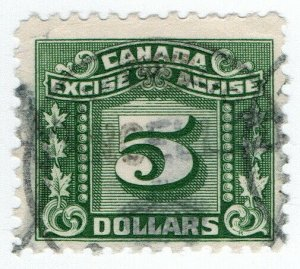 (I.B) Canada Revenue : Excise Tax $5